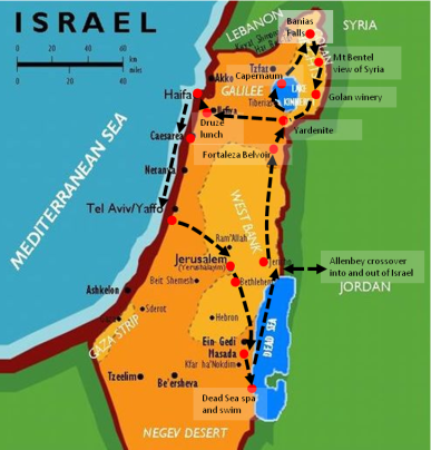 Israel Route