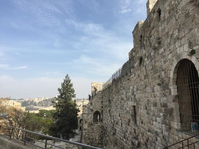 Jersusalem city wall
