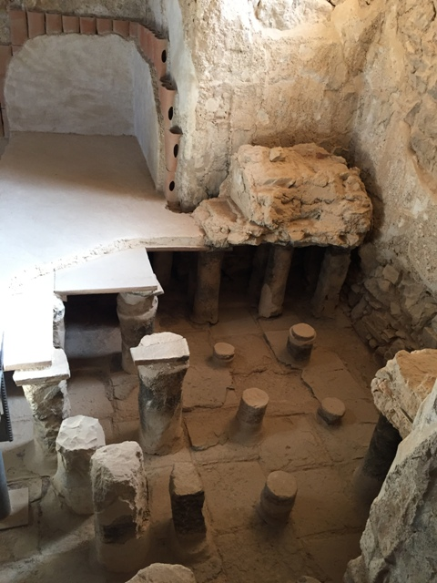 Masada bathhouse9