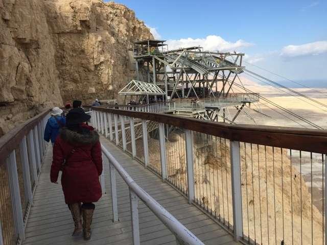 Masada - the trip down1