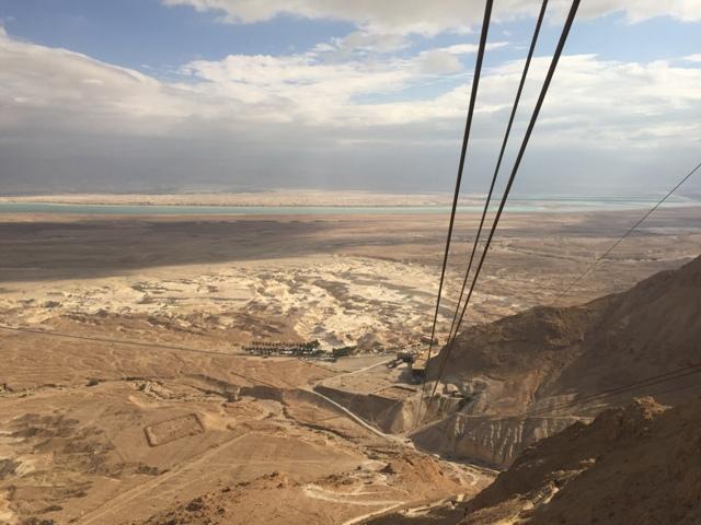 Masada - the trip down5