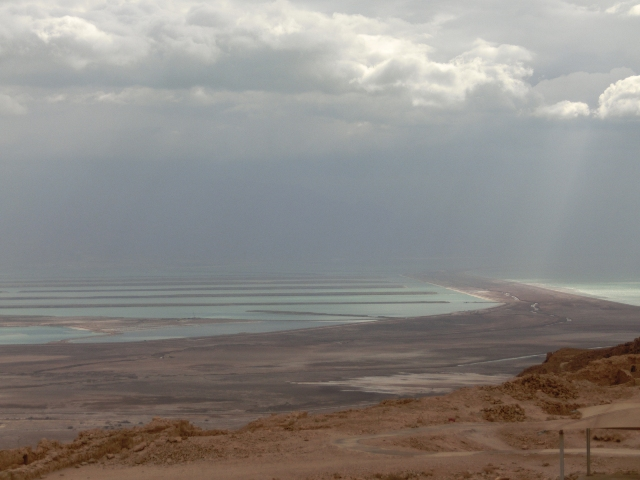 Masada view from Snake path1