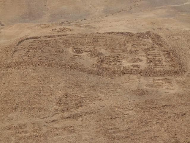 Masada view of Roman camp1