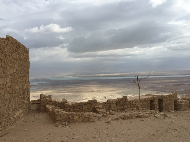 Masada walk to north end 1