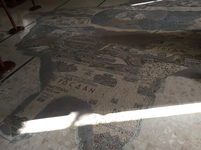 Mosaic of the Holy land 1