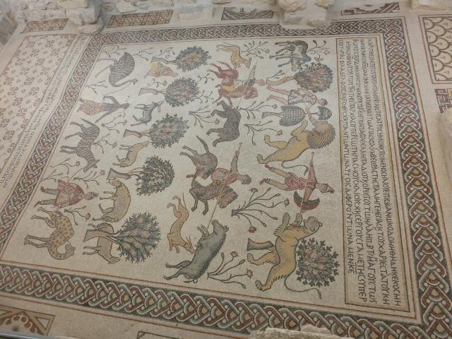 Mt Nebo church mosaics17