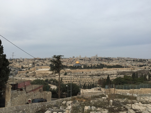 Mt of Olives view of Jerusalem2