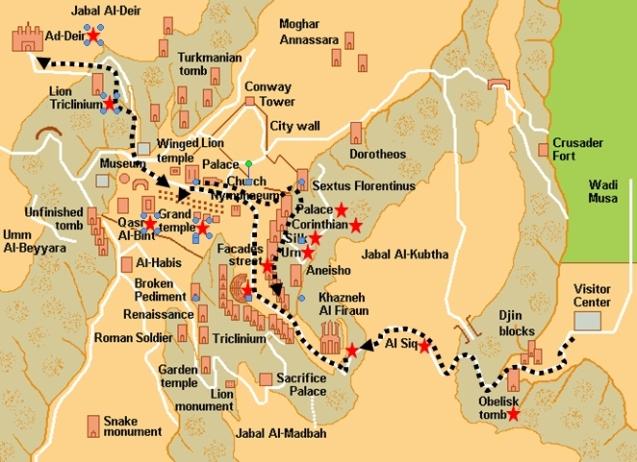 Petra journey
