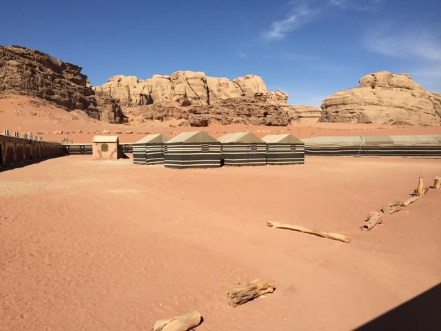 Rose Sand camp 1