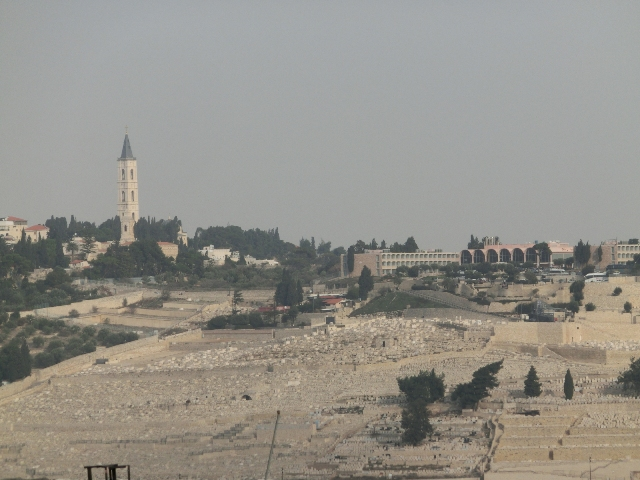 View of Mt of Olives 2