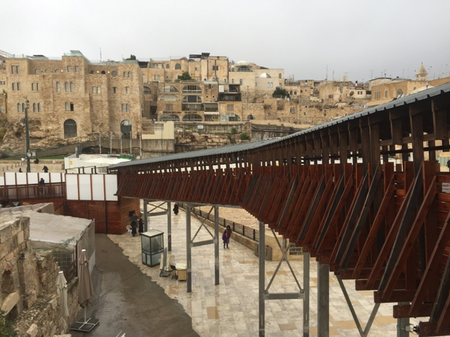 View of Wailing wall8