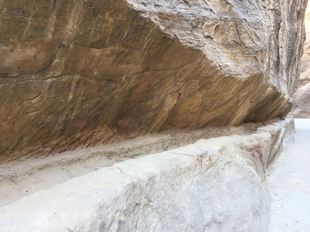 Walking through the Siq 10