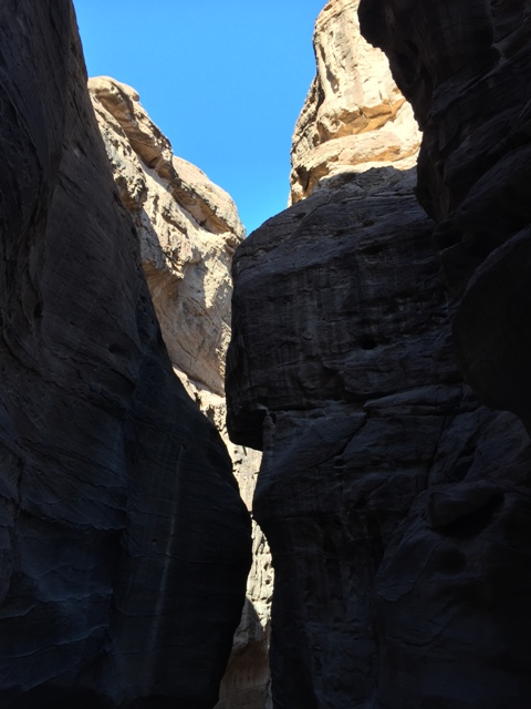 Walking through the Siq 16