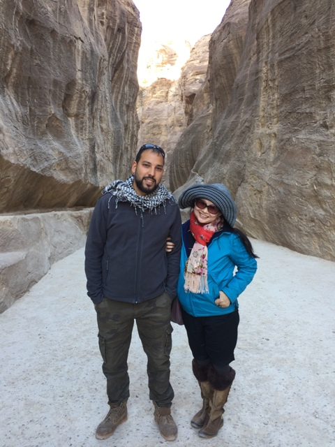 Walking through the Siq 5