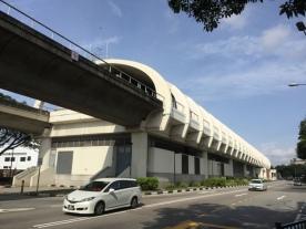 Bedok MRT architecture