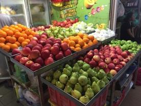 Bedok North fruit stand
