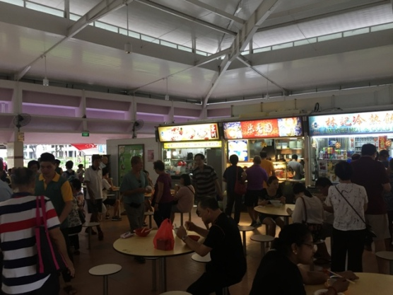 Bedok North hawkers