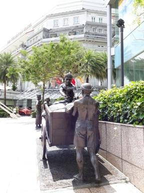 Boat Quay figures