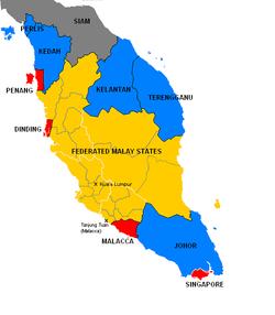 British Malaya circa 1922