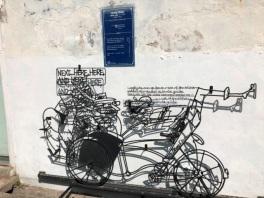 Chulia street art - Beca