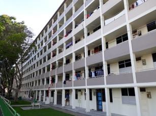 First HDB flats