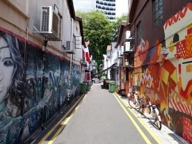 Haji Lane murals