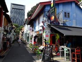 Haji Lane street scene