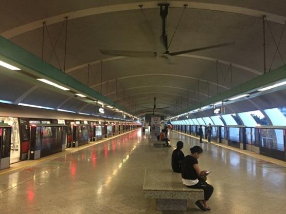 Kembangan MRT platform