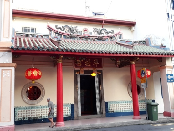 Keong Saik road temple