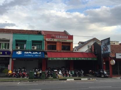 M1 biker cafe
