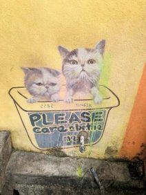 Mural - Please care and bathe me