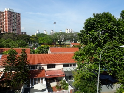 Old HDB view from MRT