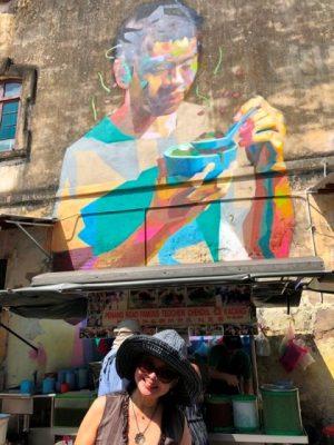 Penang road Cendol mural