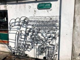 Street art - Budget hotel
