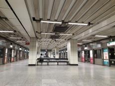 Tiong Bahru MRT platform