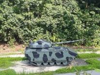 Army musem outdoor displays
