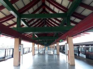 Chinese Garden Station platform