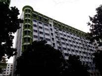 Colorful Taman Jurong flats