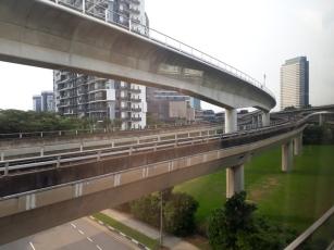Interchanging tracks