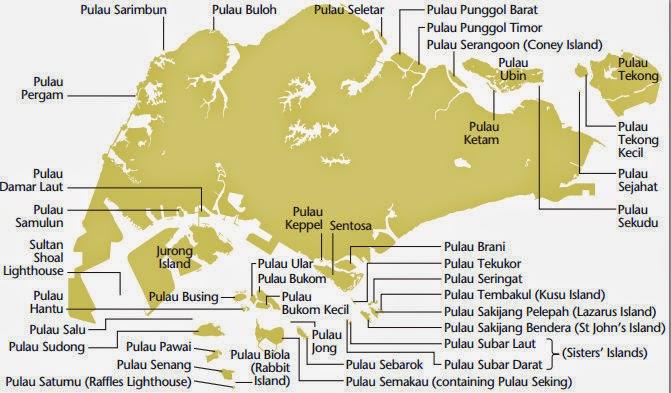 Islands of Singapore