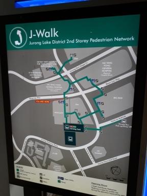 J-Walk map