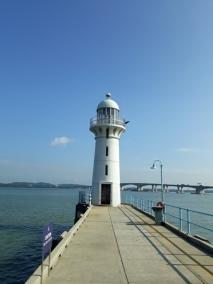 Johore Strait lighthouse