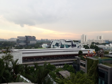 Jurong East Station view