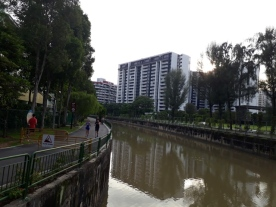 Jurong River Canal for jogging