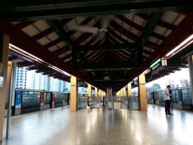 Lakeside station platform