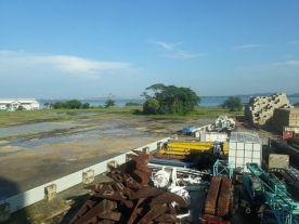 Large scrap yards