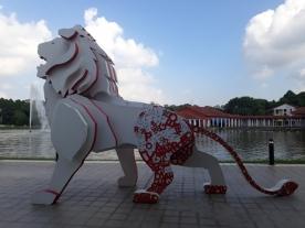 Merdeka lion