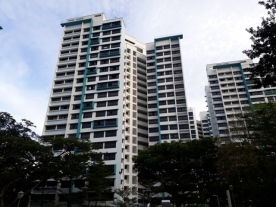 Newer Taman Jurong flats