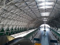 Tuas Link MRT platform