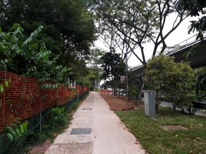Walking along SP